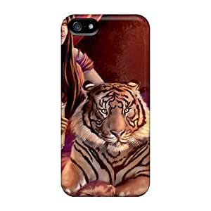 Special Design Back Beauty With Predator Phone Cases Covers For Iphone 5/5s