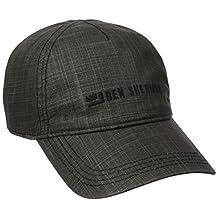 Ben Sherman mens Textured Linen Baseball Hat