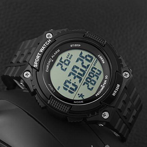 Amazon.com: Fanmis - Reloj unisex con podómetro, militar ...