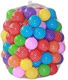 Kaptin 5.5cm 100PCS Soft Plastic Kids Play Ball,Ocean Ball,Colorful Ball Fun Ball Kids Ball Swim Pit Toy Ball Tent…
