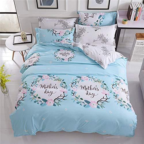 Olwen Shop Bedding Sets - Solstice Cartoon Pink Flamingo Bedding Sets 3/4pcs Children's Boy Girl and Adult Bed Linings Duvet Cover Bed Sheet Pillowcases 1 PCs (Top Sheet Kidsline)