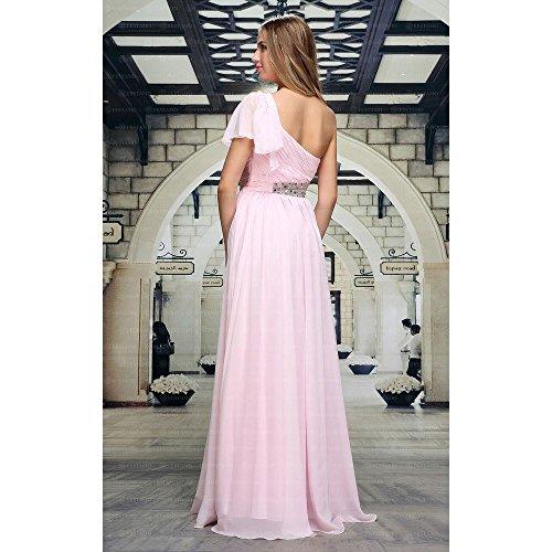 Design Damen Rosa Kleid In 42 Ital Gr Festamo bei Für Maxi Ball P14AX4