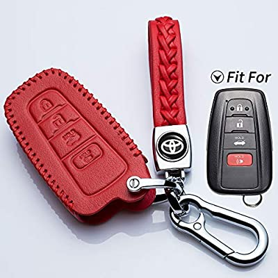 mediatime.sn Leather Remote Key Cover Case Fob Protector for ...