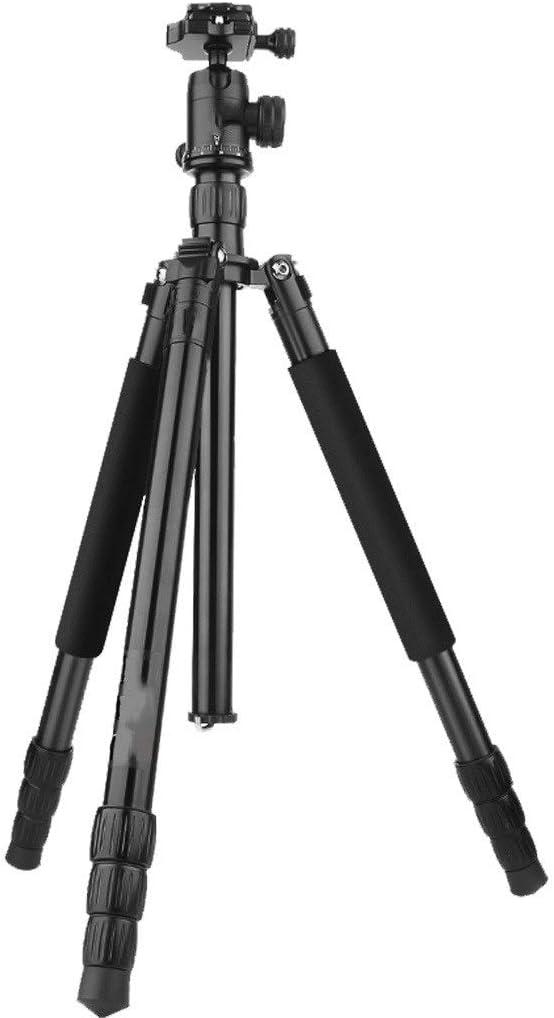 HUNYUAN-LF デスクトップと旅行用三脚、カメラスタビライザーとスタンド、スマートフォン用三脚、一眼レフカメラ用三脚、ブラック (Color : Blue)