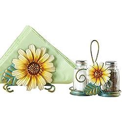 Sunflower Salt And Pepper Shaker Set