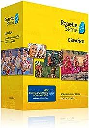 Rosetta Stone Spanish (Latin America) Level 1-5 Set