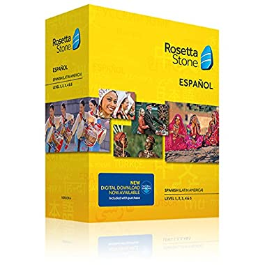 Learn Spanish: Rosetta Stone Spanish (Latin America) - Level 1-5 Set