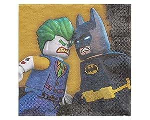 Lego Batman Party Paper Lunch Napkins, 16ct