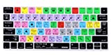 XSKN Magic Keyboard After Effects Shortcut Keyboard Cover, Durable AE Hotkeys Silicone Keyboard Skin for Apple Magic Keyboard MLA22LL/A MLA22B/A US EU both