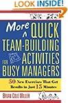 More Quick Team-Building Activities f...