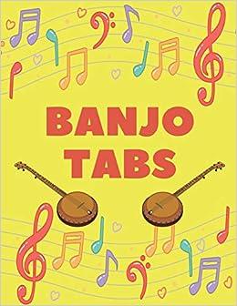 Amazon com: Banjo Tabs: Write Down Your own Banjo Music