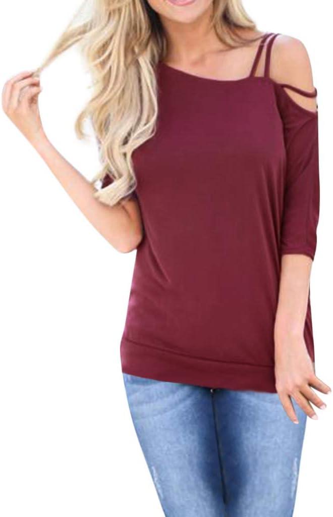 Lotus.Flower - Camiseta de manga corta para mujer, cuello asimétrico, correa al hombro: Amazon.es: Juguetes y juegos