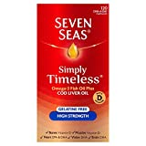 omega 3 cod liver seven seas - Seven Seas Cod Liver Oil High Strength With Omega 3 Plus Vitamins D & E 120 Capsules