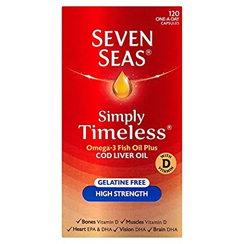 Seven Seas Cod Liver Oil High Strength With Omega 3