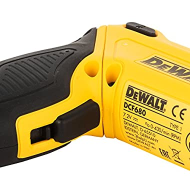 DEWALT DCF680G2-GB 7.2V 6.35 mm XR Li Ion Cordless Motion Activated Screwdriver with 2x1.0 Ah batteries included 9