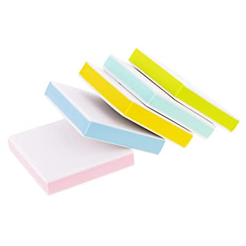 Amazon magideal pieces colorful square rubber carving