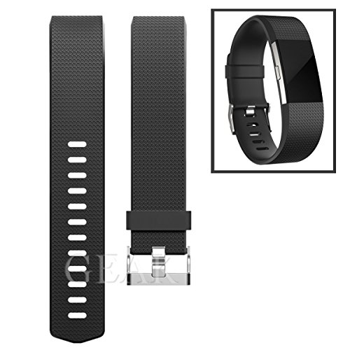 GEAK Fitbit Charge 2 Bands, Special edition Replacement bands for Fitbit Charge2, Large Small 33 Different Colors Available