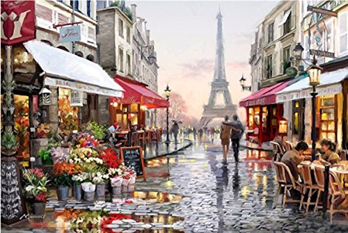 Tower Diamond Embroidery 5D Diamond DIY Painting Craft Home Decor - 2