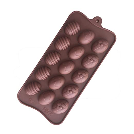 Zarupeng✦‿✦ Huevo de Pascua Huevos de Silicona Pastel de Chocolate Molde de jabón Hornear Molde de Bandeja de Hielo: Amazon.es: Juguetes y juegos