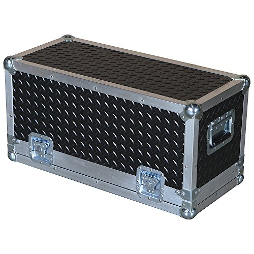 Head Amplifier 3/8 Ply Professional ATA Case with Diamond Plate Laminate Fits SWR Workingman's 4004 Bass ()