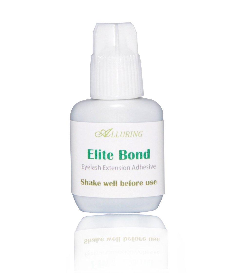 New ALLURING ELITE Bond Glue 5ml Eyelash Extensions Strong & Fast Adhesive