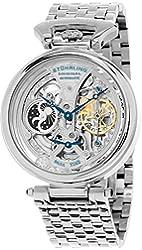 Stuhrling Original Men's GP15832 Legacy Analog Display Automatic Self Wind Silver Watch