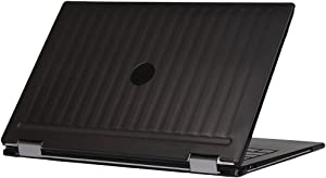 "mCover iPearl Hard Shell Case for 13.3"" Dell XPS 13 9365 2-in-1 Models (not Fitting Non 2-in-1 XPS 13 Models) Convertible Laptop 2-in-1 9365 - Black"
