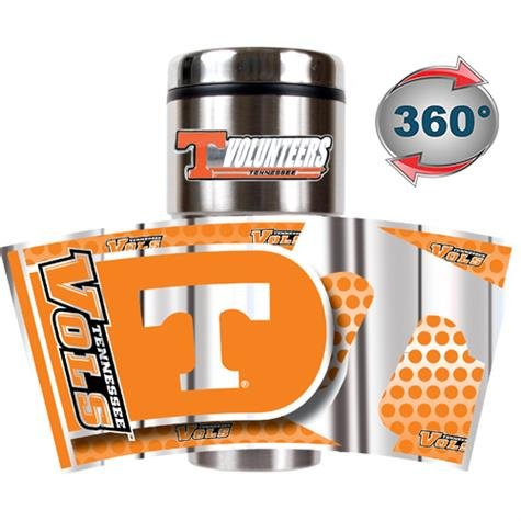 (NCAA Tennessee Volunteers Metallic Travel Tumbler)