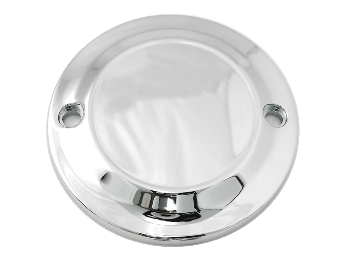 Harley Chrome 2-Hole Smooth Ignition System Cover