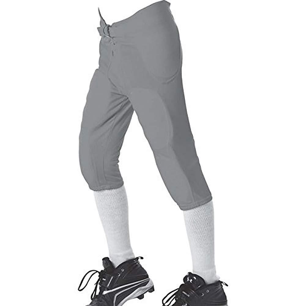 Allesonソロシリーズ統合Football Pants – グレー – 中