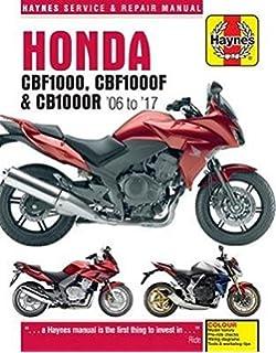 Honda CBF1000 & CB1000R Update (4927) (06 To 16) (