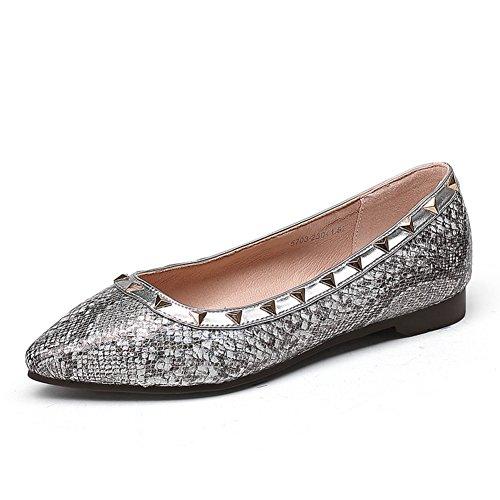 Zapatos de otoño/Zapatos de mujer/ Versión coreana de los zapatos puntiagudos/Asakuchi baja zapatos casual fashion B