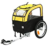 Light and Airy Dog Bike Trailer - Suitable for Small Dogs Up to 25kg - Foldable - Enjoy Journeys With Your Pet