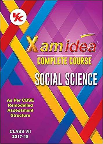 Xam Idea Book For Class 9 Social Science