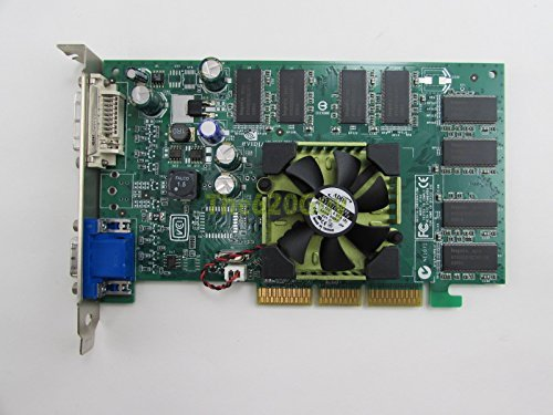 Dell U0842 NVIDIA Quadro FX500 128MB DDR 128-Bit DVI/VGA AGP 8x Video Card ()