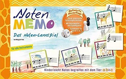 Noten-Memo Noten-Lernspiel Carlton Musikvertrieb