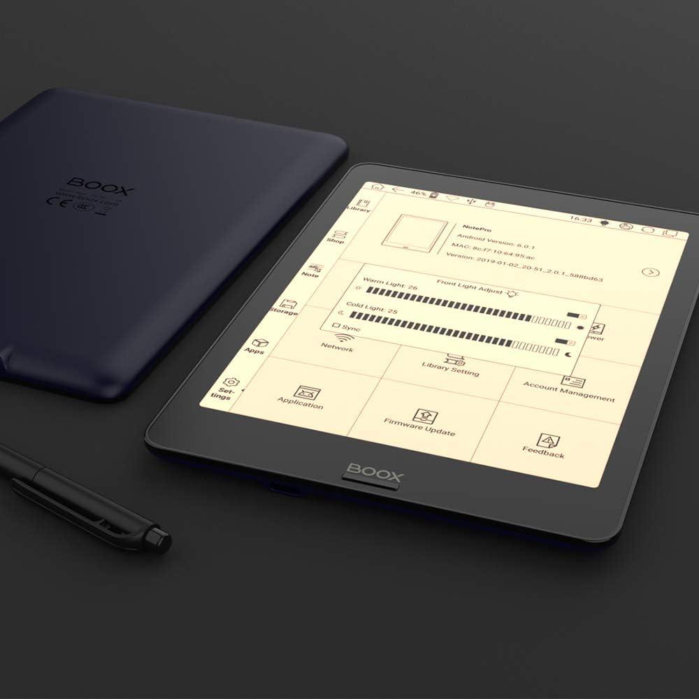 Bleu Fonc/é BOOX Nova Pro 7.8 eReader Suite 300ppp 32Go Wi-FI Android 6.0 /Éclairage Int/égr/é 2Go