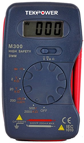 MASTECH Mini digital Pocket multimeter M300 13-Range