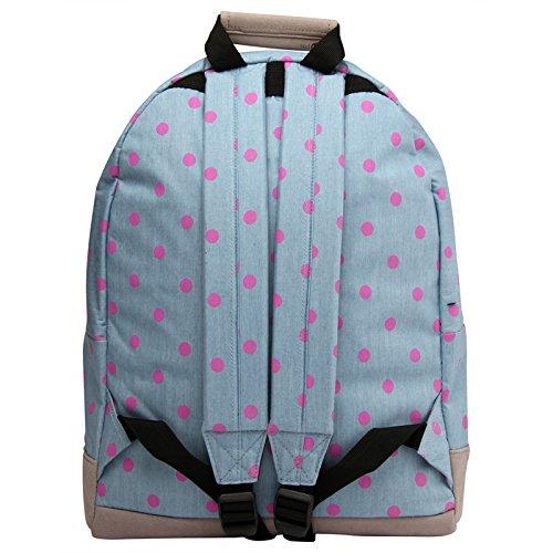 Pac Polka Rucksack Demim 17 Pink Blue Mi Blue Litres Pink RSqdxwEB