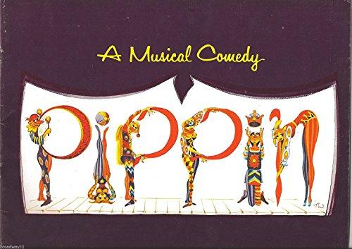 """Stephen Schwartz""""PIPPIN"""" Bob Fosse/Michael Rupert/Eric Berry 1974 Broadway Souvenir Program"""