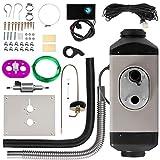 Happybuy 12V 2KW Diesel Air Heater Digital Thermostat Parking Heater