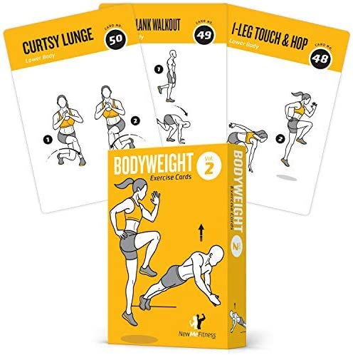 Exercise Cards BODYWEIGHT Review