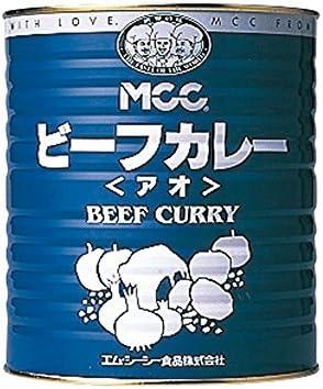 【常温】 エム・シーシー食品 ビーフカレー アオ 1号缶 3kg 業務用 カレー