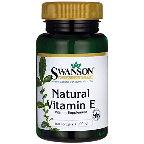 Swanson Natural Vitamin E 200 Iu (134.2 mg) 100 Sgels