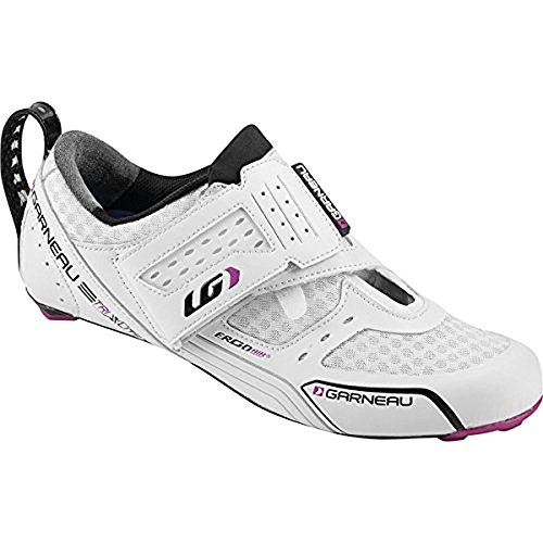 Louis Garneau Women's Tri X-Lite Road Cycling Shoe 41.5 White