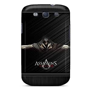 Special Blowey Skin Case Cover For Galaxy S3, Popular Assassins Creed Phone Case