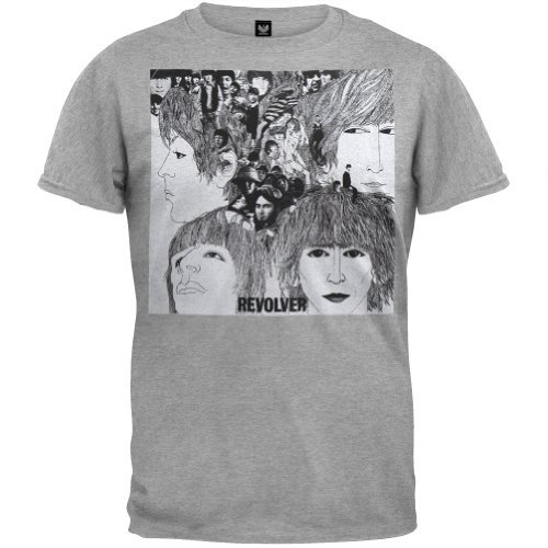 The Beatles - Mens Revolver T-shirt Medium - Mens Revolver Tee
