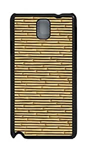 Samsung Note 3 Case Bamboo PC Custom Samsung Note 3 Case Cover Black