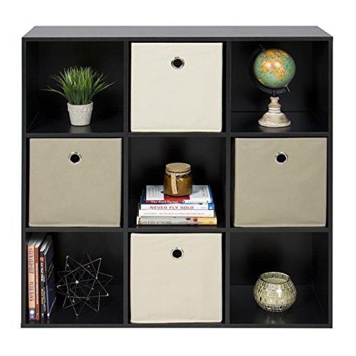 allgoodsdelight365 9-Cube Bookshelf Display Storage Organizer