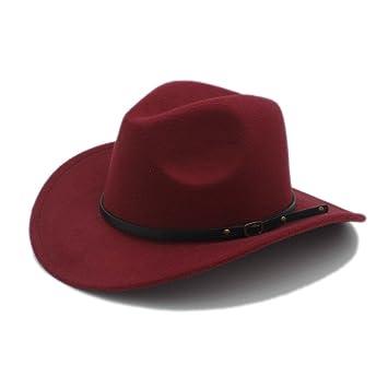 GBY Sombrero de Vaquero para Hombre para Caballero, Vaquera, Jazz, Gorra de la